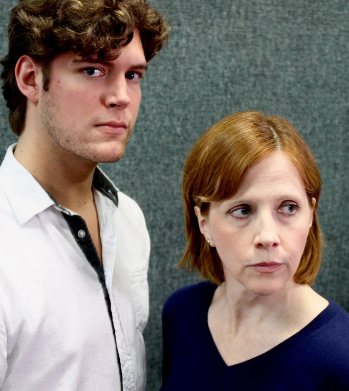 Brennan Patrick, Karen Harrison (photo by Filigree Theatre)