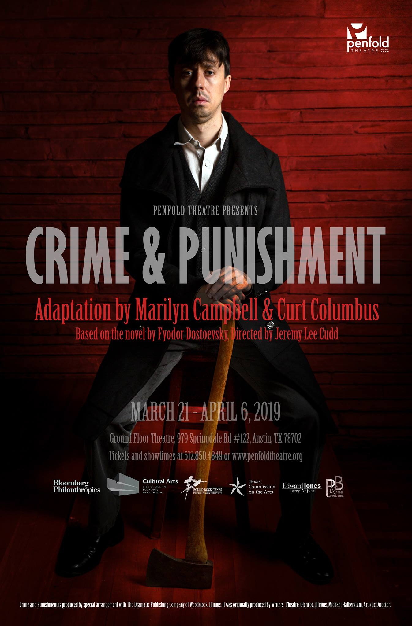 Crime and Punishment by Penfold Theatre Company