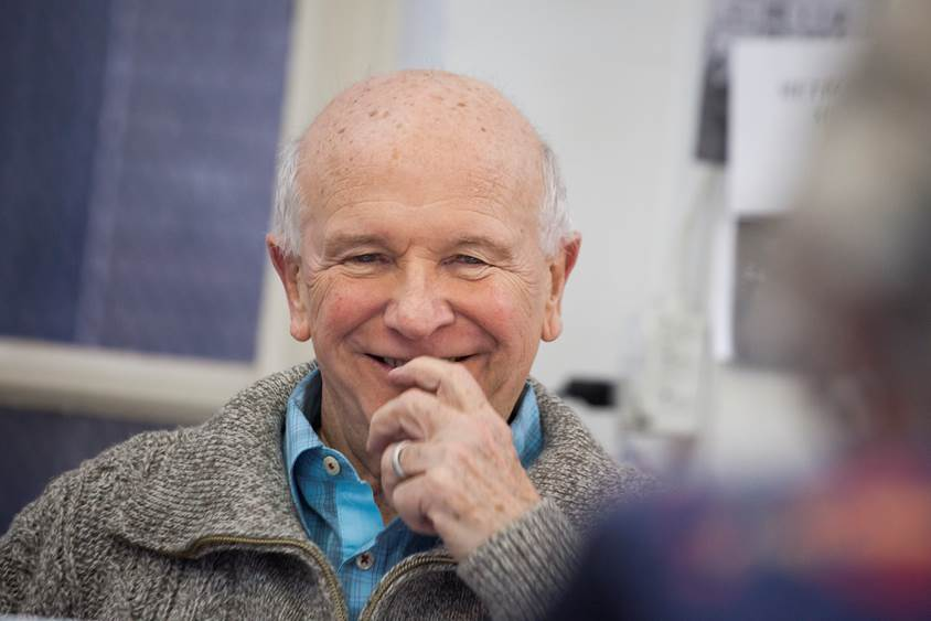 Terrence McNally (photo by Michael Nagle)