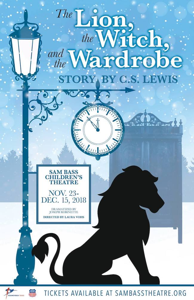 The Lion, the Witch and the Wardrobe by Sam Bass Community Theatre