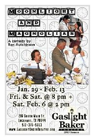 Moonlight and Magnolias by Gaslight Baker Theatre