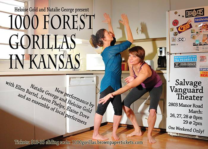 1000 Forest Gorillas in Kansas by Salvage Vanguard Theater