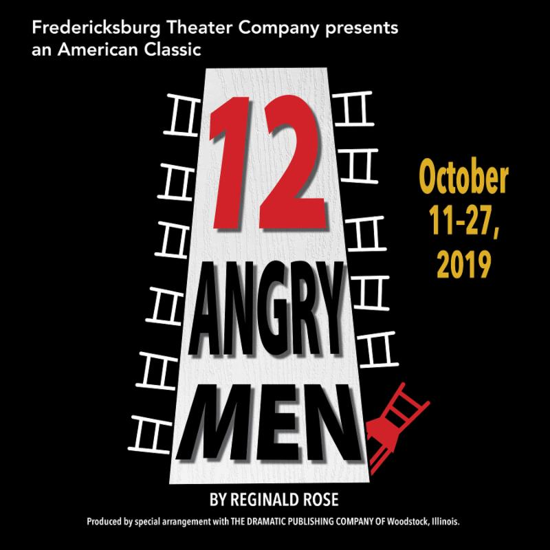 Twelve Angry Men by Fredericksburg Theater Company