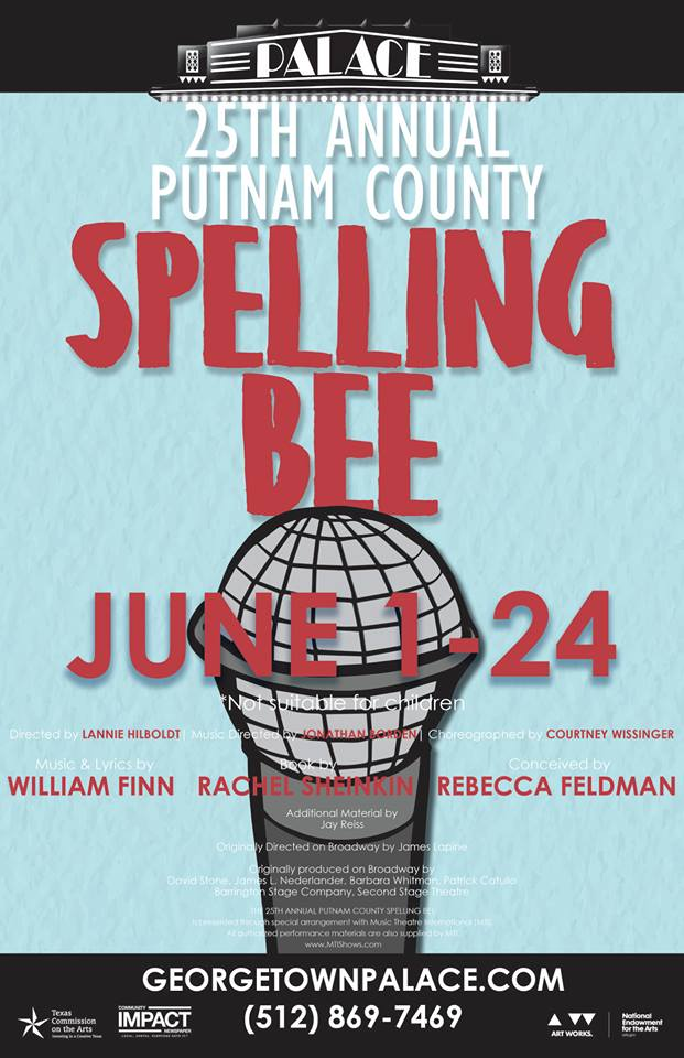 The 25th Annual Putnam County Spelling Bee by Georgetown Palace Theatre