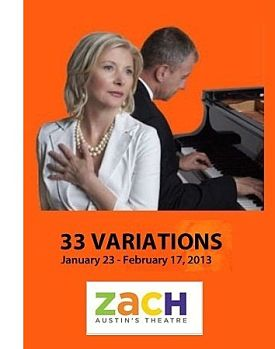 33 Variations by Zach Theatre
