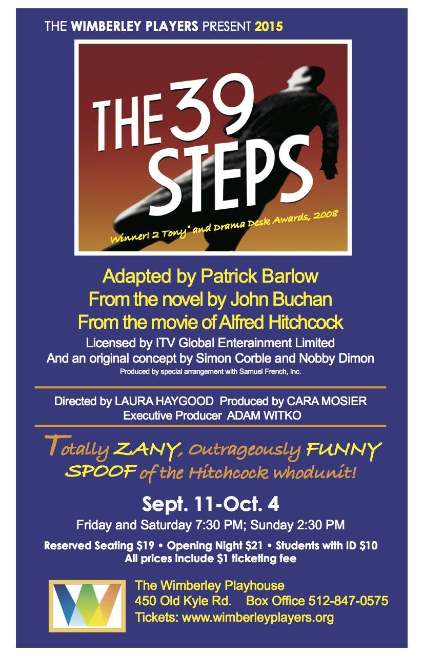 The 39 Steps by Wimberley Players