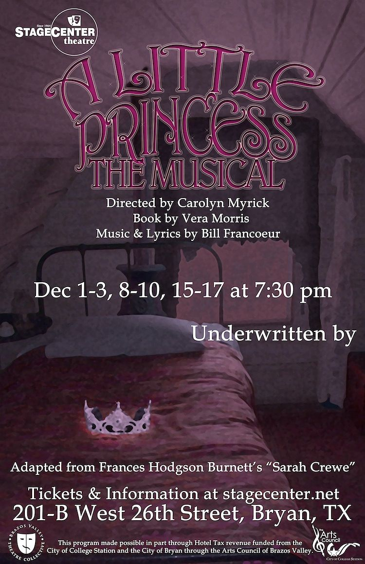 A Little Princess, the musical by StageCenter Community Theatre