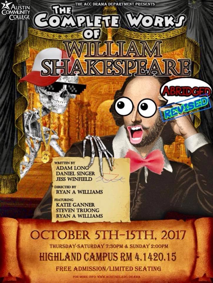 The Complete Works of William Shakespeare (Abridged) by Austin Community College