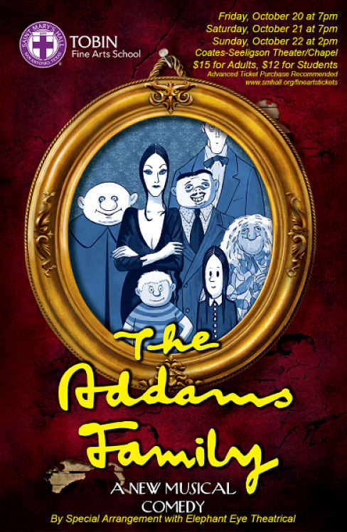 The Addams Family by Saint Mary's Hall Fine Arts Department