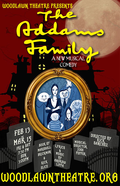The Addams Family by Woodlawn Theatre