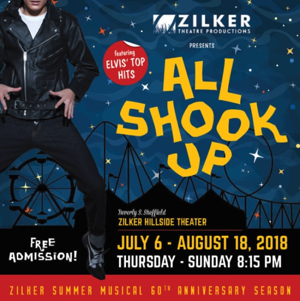 All Shook Up, the Elvis Presley musical by Zilker Theatre Productions