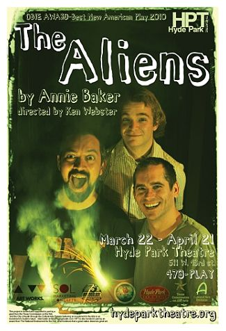 The Aliens by Hyde Park Theatre