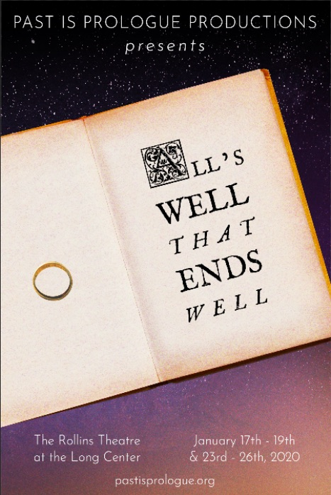 Auditions for All's Well That Ends Well, by Past Is Prologue Productions
