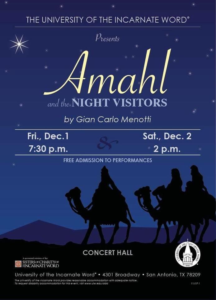 Amahl and the Night Visitors by University of the Incarnate Word