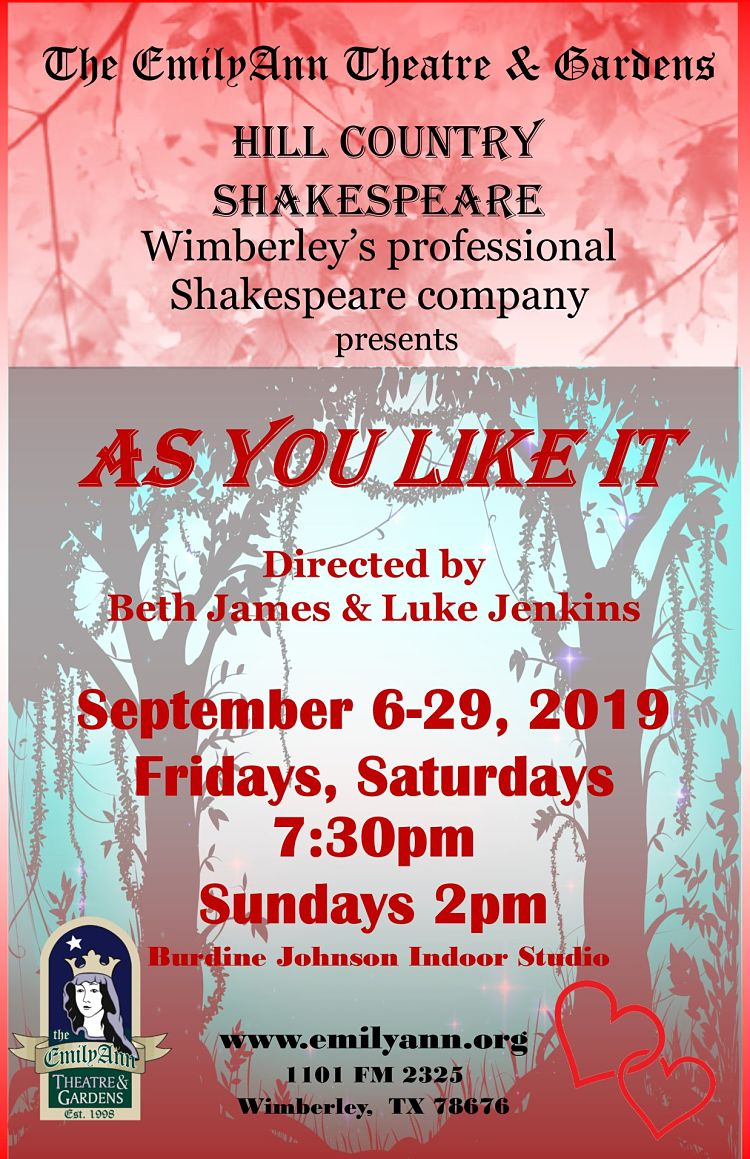 As You Like It by Emily Ann Theatre