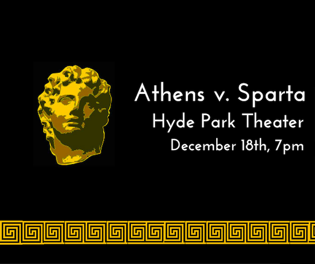 Athens vs. Sparta by Hyde Park Theatre