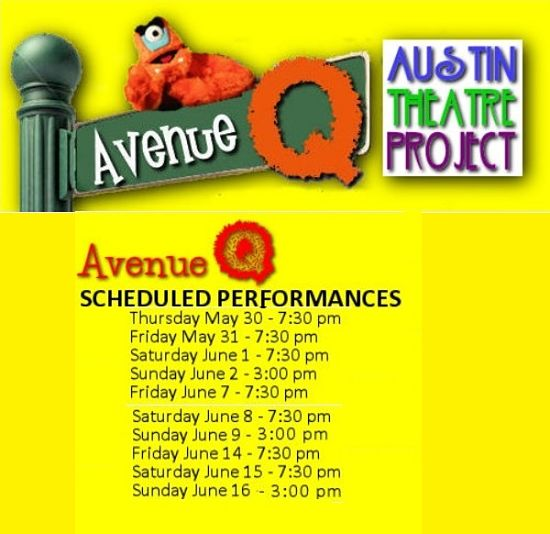 Avenue Q by Austin Theatre Project
