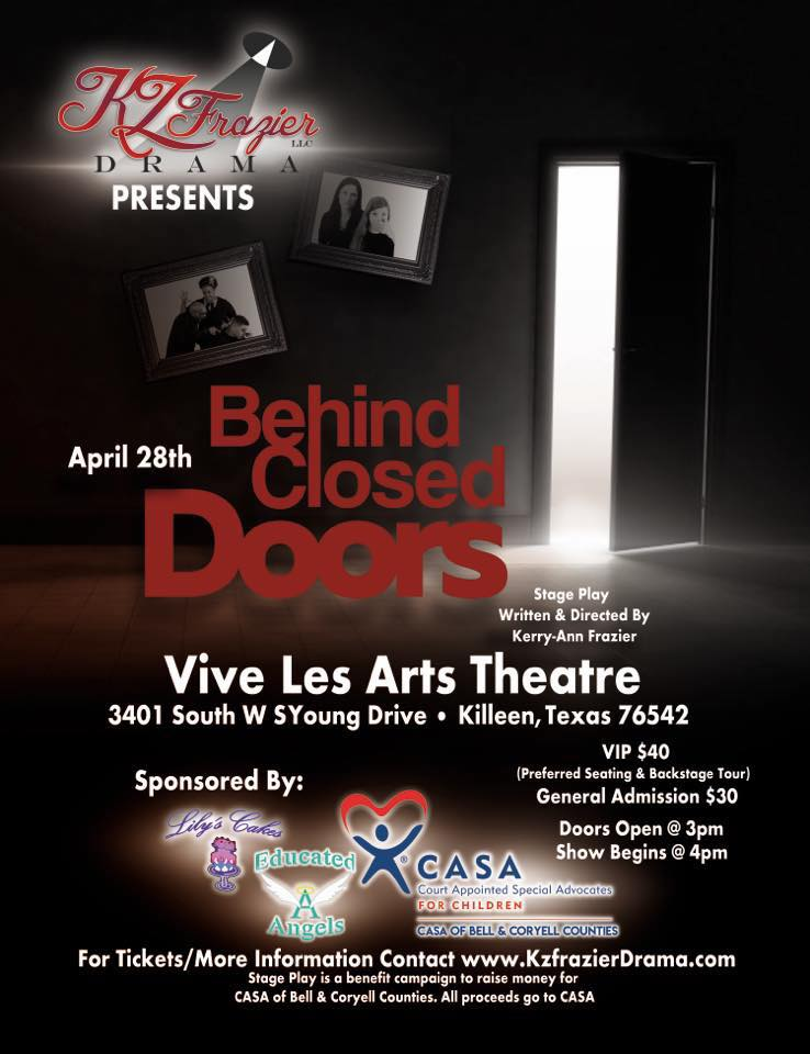Behind Closed Doors by KZFrazier Drama Company