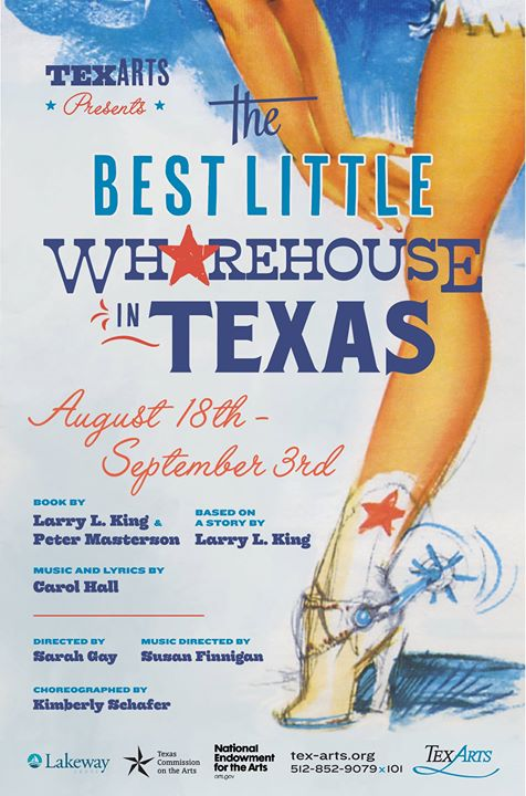 The Best Little Whorehouse in Texas by Tex-Arts