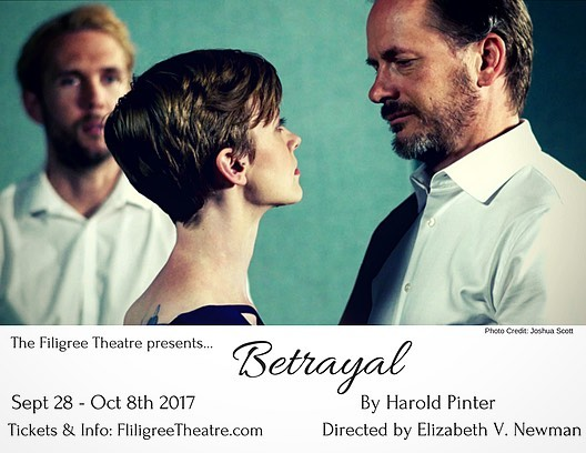 Betrayal by Filigree Theatre