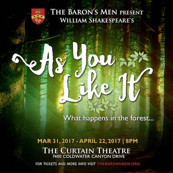 As You Like It by The Baron's Men
