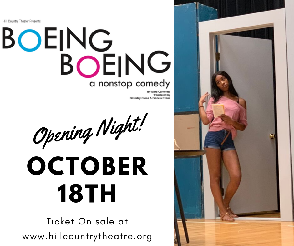 Boeing Boeing by Hill Country Theatre (HCT)