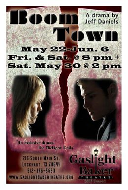 Boom Town by Gaslight Baker Theatre