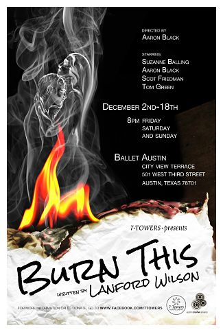 Burn This by 7 Towers Theatre Company