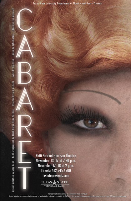 Cabaret by Texas State University