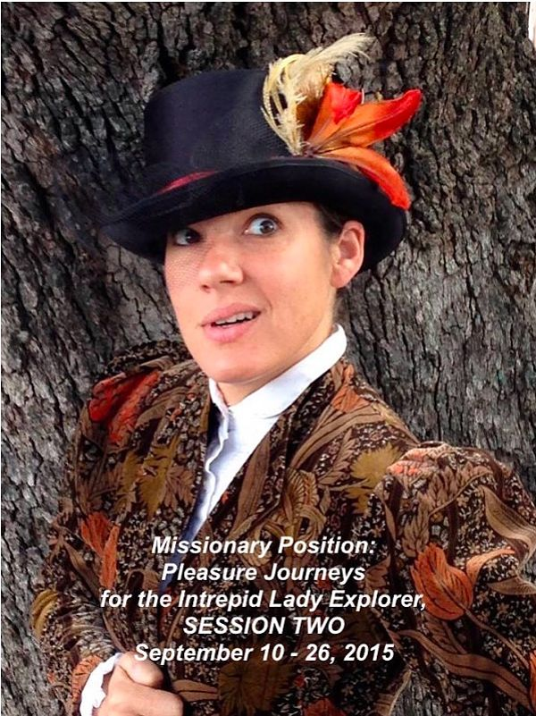 Missionary Position Session Two: Pleasure Journeys for the Intrepid Lady Explorer. by Glass Half Full Theatre