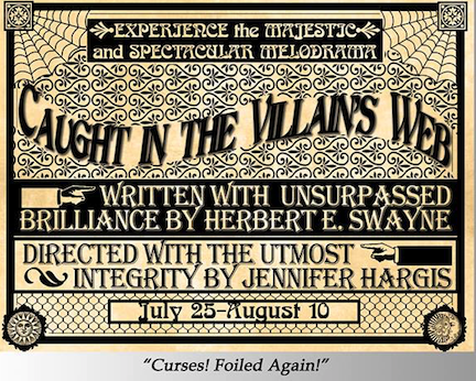Caught in the Villain's Web by StageCenter Community Theatre