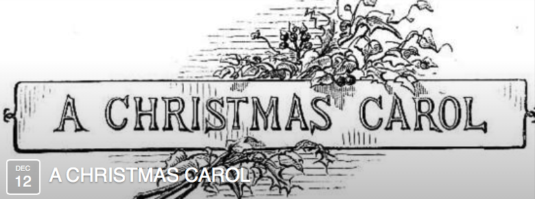 A Christmas Carol Evening by Peggy Ghorbani and Elizabeth Warren