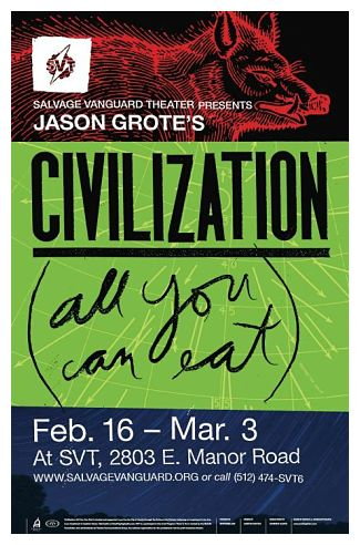 Review: Civilization (All You Can Eat) by Salvage Vanguard Theater