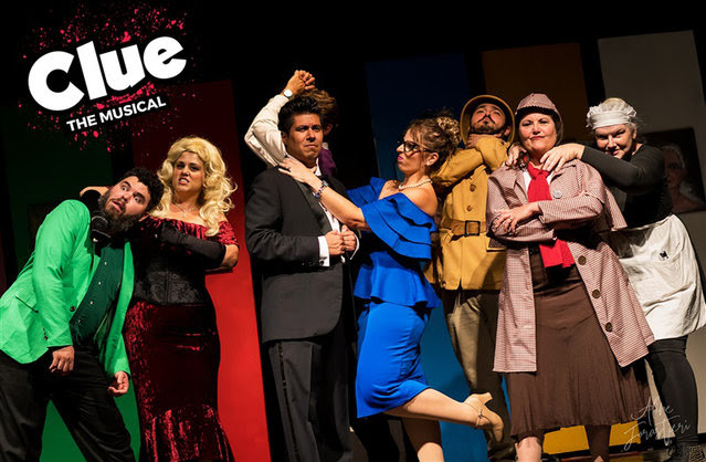 Clue, the musical by Bastrop Opera House