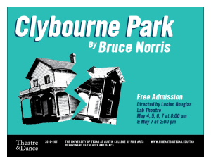 Review: Clybourne Park by University of Texas Theatre & Dance