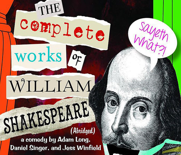 The Complete Works of William Shakespeare (Abridged) by Hill Country Arts Foundation (HCAF)