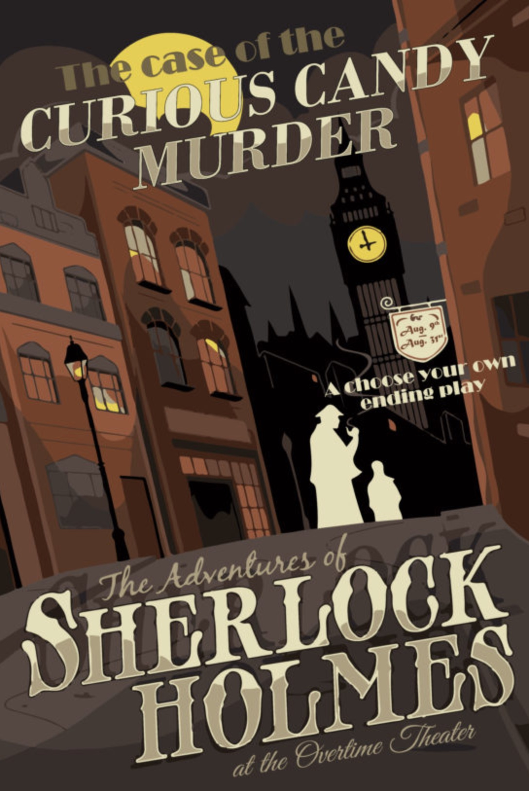 Sherlock Holmes and the Curious Candy Murder by Overtime Theater