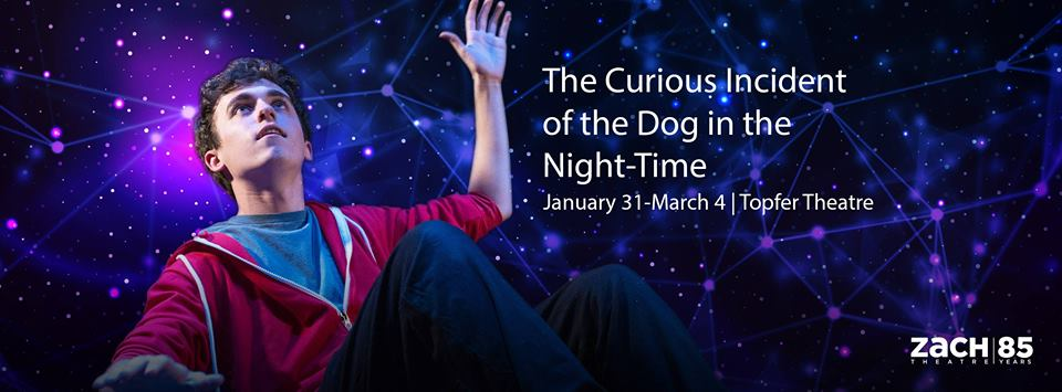 The Curious Incident of the Dog in the Night-Time by Zach Theatre