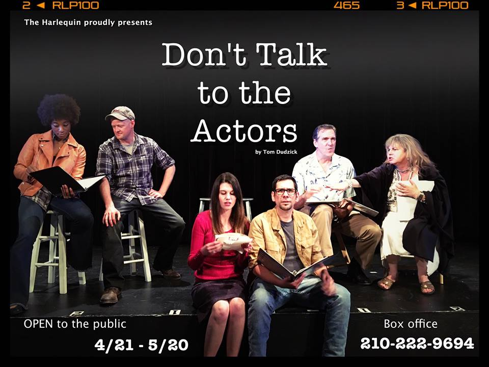 Don't Talk to the Actors by The Harlequin