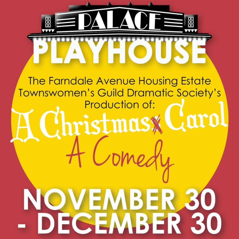 Farndale Avenue Housing Estate Townswomen's Guild Dramatic Society's Production of a Christmas Carol by Georgetown Palace Theatre