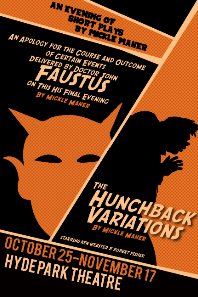 Faustus AND The Hunchback Variations by Capital T Theatre