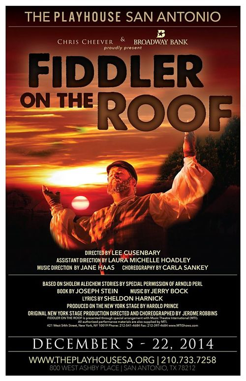 Fiddler on the Roof by Playhouse San Antonio