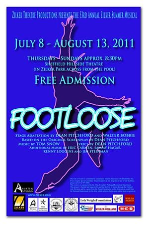 Footloose by Zilker Theatre Productions