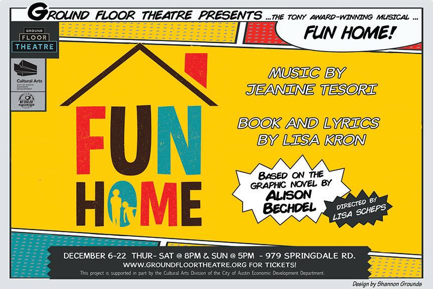 Fun Home by Ground Floor Theatre