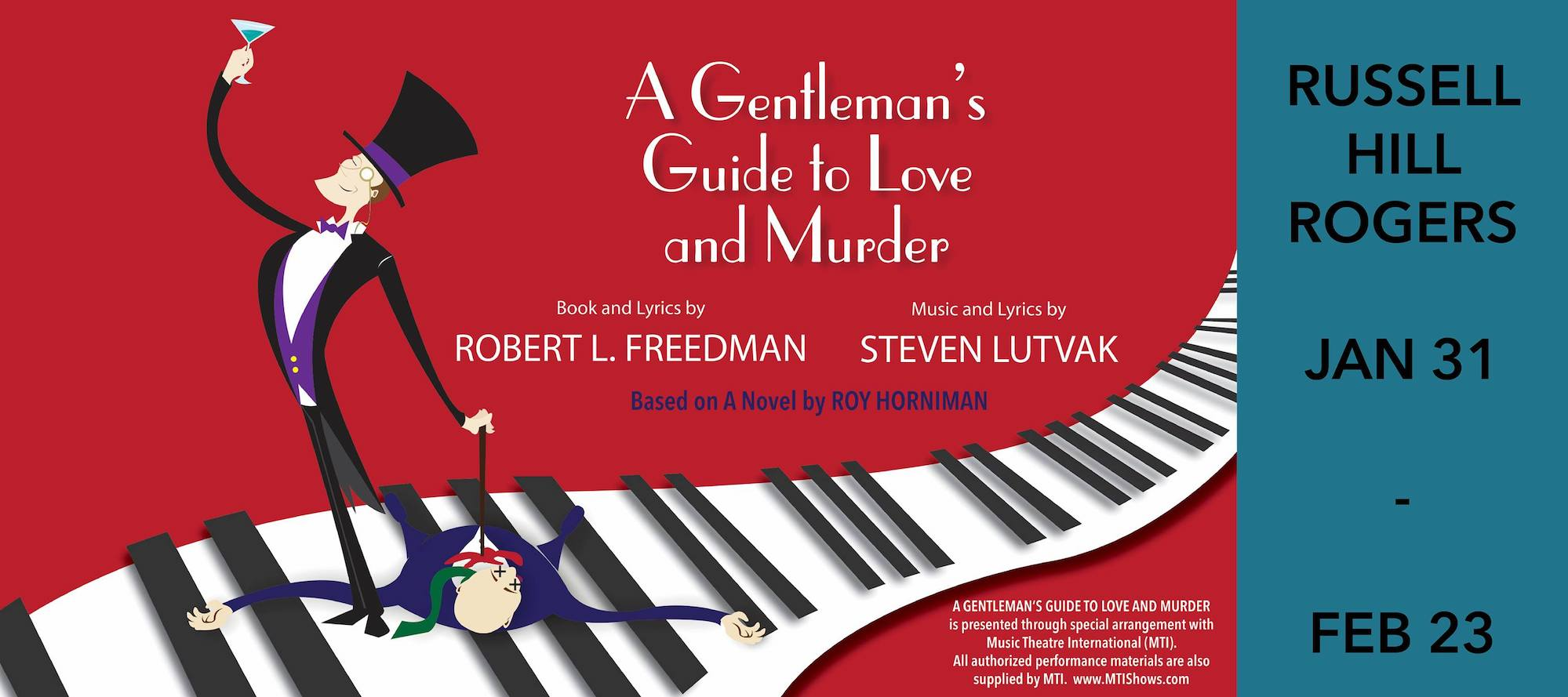 A Gentleman's Guide to Love and Murder by The Public Theater