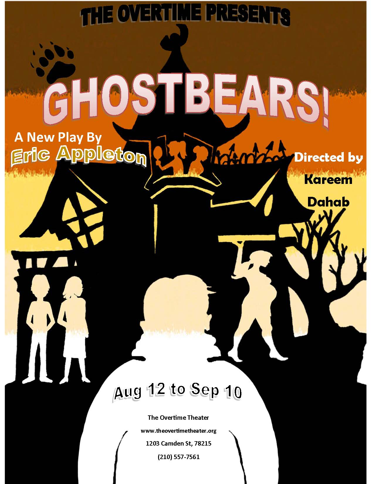 Ghostbears by Overtime Theater