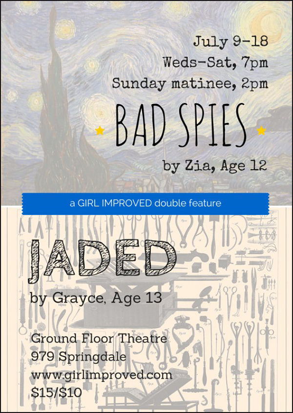 Bad Spies AND Jaded by GirlImproved