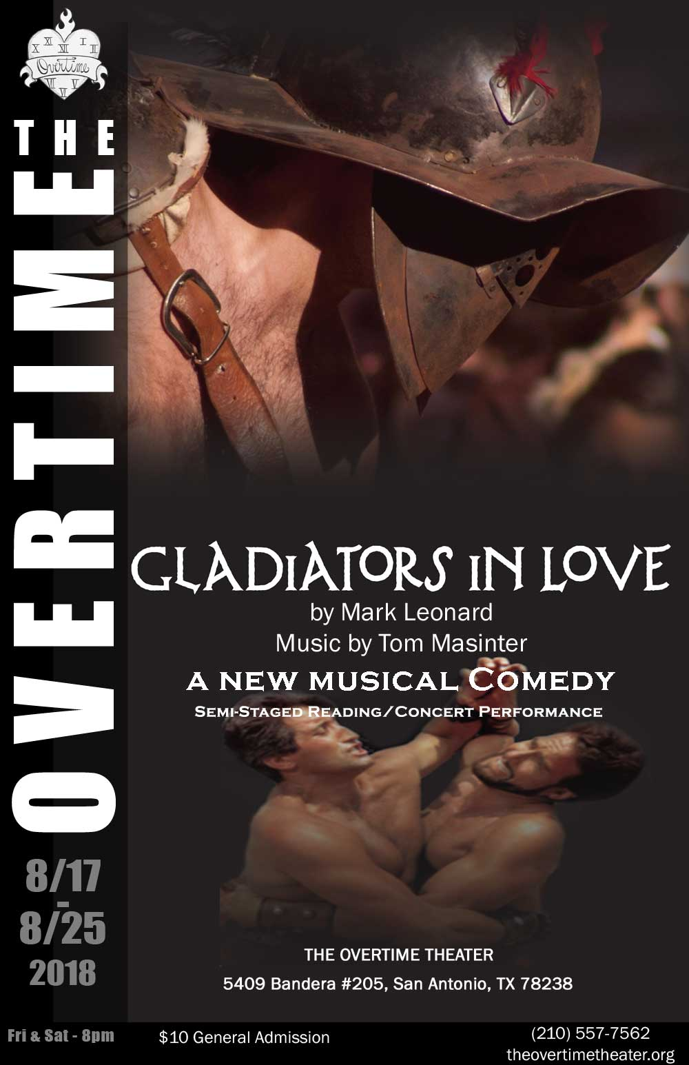 Gladiators in Love by Overtime Theater