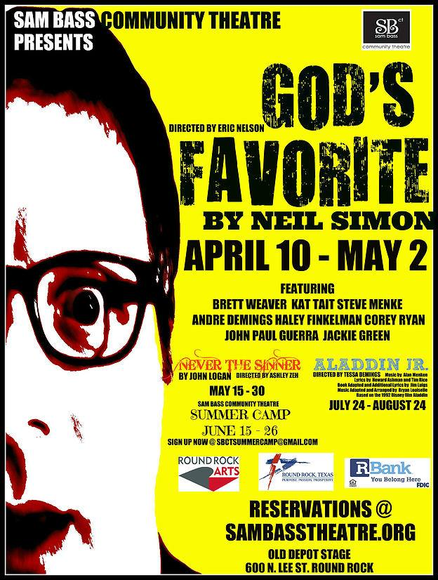God's Favorite by Sam Bass Community Theatre