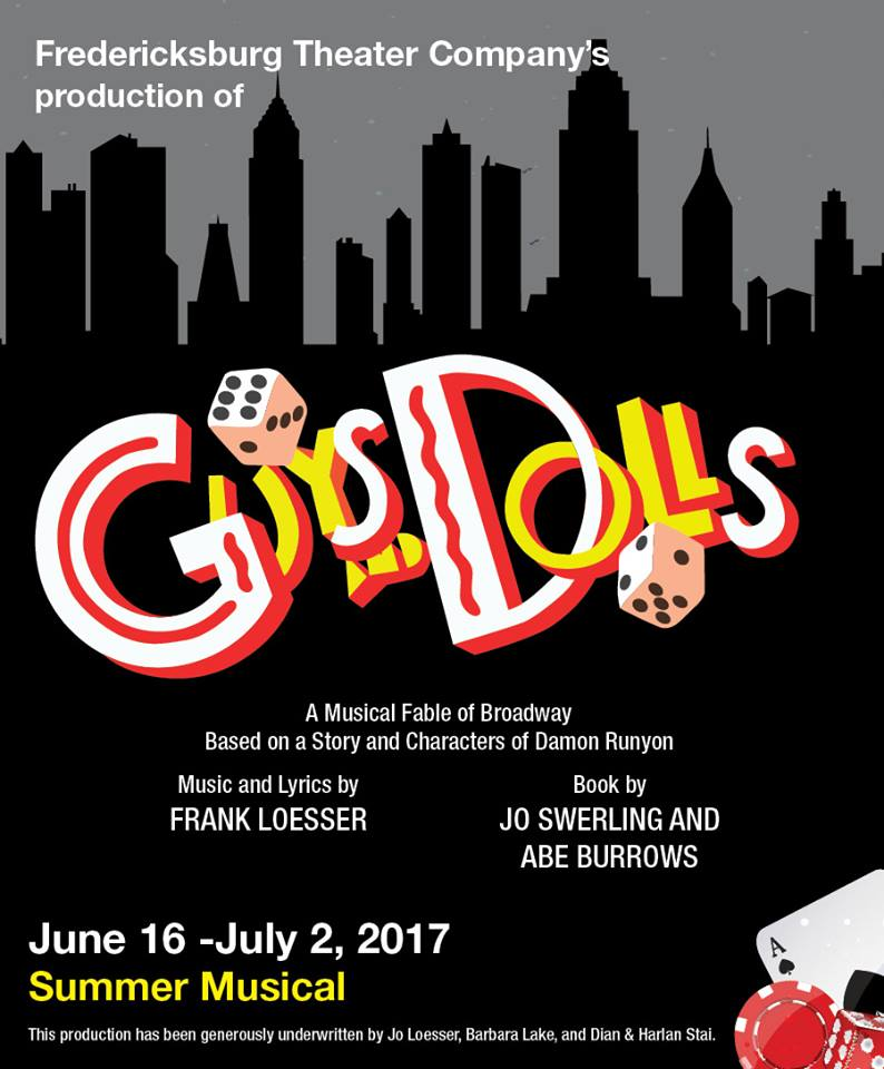Guys and Dolls by Fredericksburg Theater Company